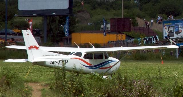 Cessna 172 SP-ZAP na Małopolskim Pikniku Lotniczym w Krakowie (2009)